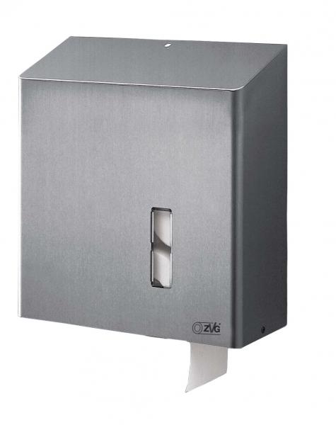 ZVG-zetPutz-Toilettenpapier-Spender aus Edelstahl, geschliffen, VE: 1 Stück