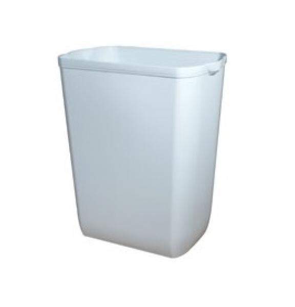 ZVG-zetMatic-Zubehör, Schwingdeckel aus Kunststoff, weiß, f. 43 l Abfalleimer, VE: 6 Stück