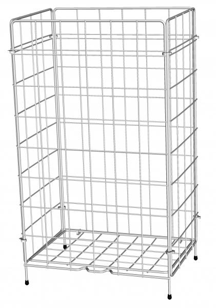 ZVG-zetPutz-Gitterkorb aus Metall m. Kunststoffbeschichtung, ca. 50 l, VE: 1 Stück