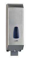 Seifenspender aus Edelstahl, glänzend, ca. 1.200 ml, auffüllbar, VE: 6 Stück