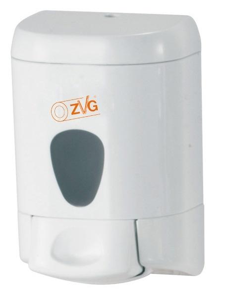 Seifenspender aus Kunststoff, weiß, ca. 550 ml, VE: 6 Stück