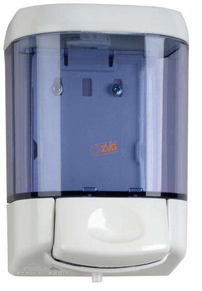 ZVG-zetClean-Reinigung-Desinfektion, Seifenspender aus Kunststoff transparent