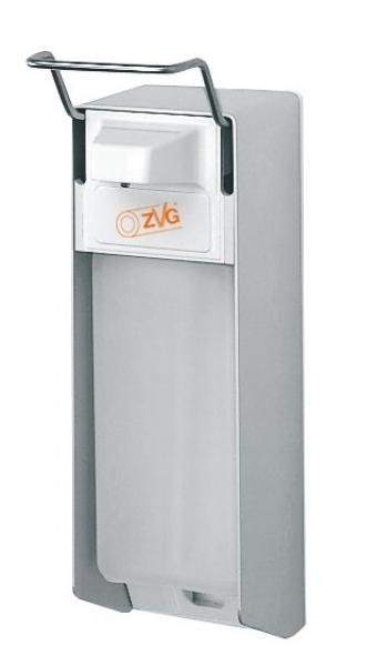 ZVG-zetClean-Zubehör, Seifen- u. Desinfektionsmittel-Spender mit ALU-Gehäuse, 1000 ml