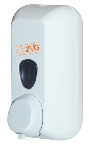 ZVG-zetClean-Reinigung-Desinfektion, Schaum-Seifenspender, CWS, Kunststoff, weiß