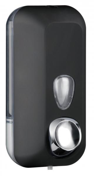 ZVG-zetClean-Zubehör, Seifenspender aus Kunststoff, schwarz, ca. 550 ml