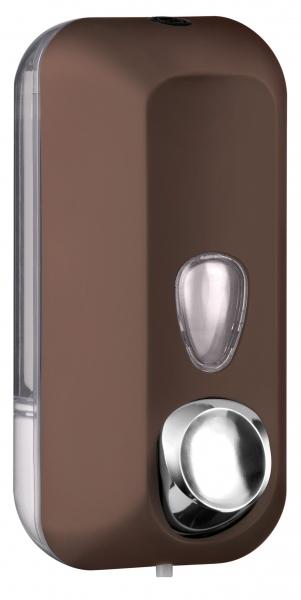ZVG-zetClean-Zubehör, Seifenspender aus Kunststoff, braun, ca. 550 ml