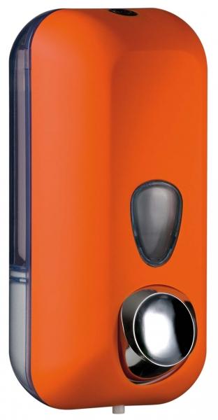 ZVG-zetClean-Zubehör, Seifenspender aus Kunststoff, orange, ca. 550 ml