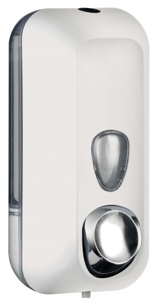 ZVG-zetClean-Zubehör, Seifenspender aus Kunststoff, weiß, ca. 550 ml
