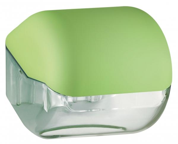 ZVG-zetPutz-Toilettenpapier-Spender, grün aus Kunststoff, VE: 12 Stück