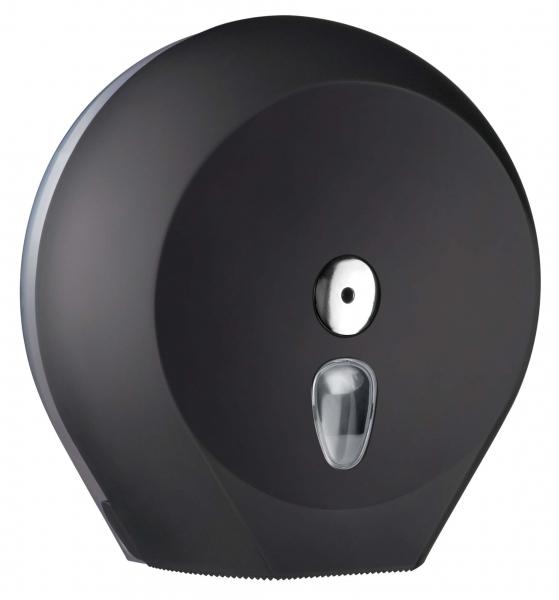 ZVG-zetPutz-Gigantrollen-Spender MAXI, schwarz aus Kunststoff, VE: 1 Stück