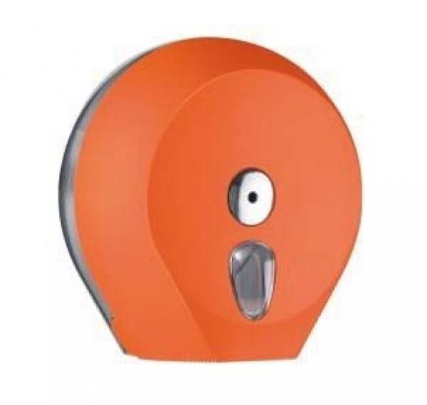 ZVG-zetPutz-Gigantrollen-Spender MAXI, orange aus Kunststoff, VE: 1 Stück