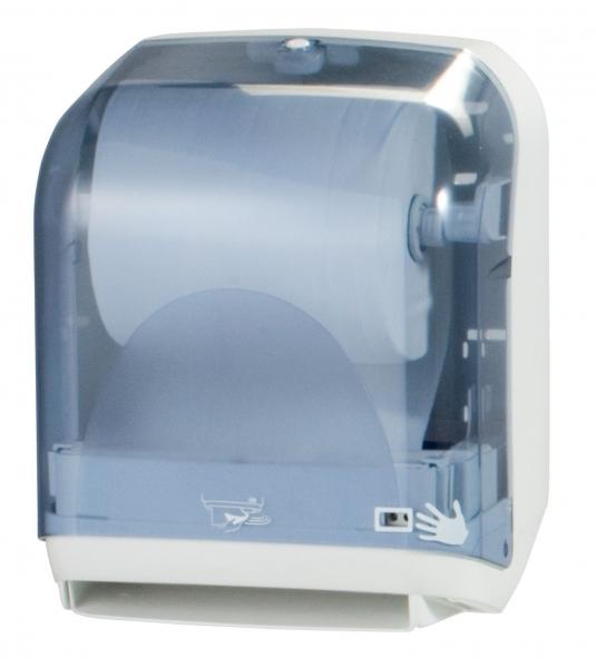 ZVG-zetPutz-Rollen-Handtuch-Spender, m. Sensor, transparent, VE: 1 Stück