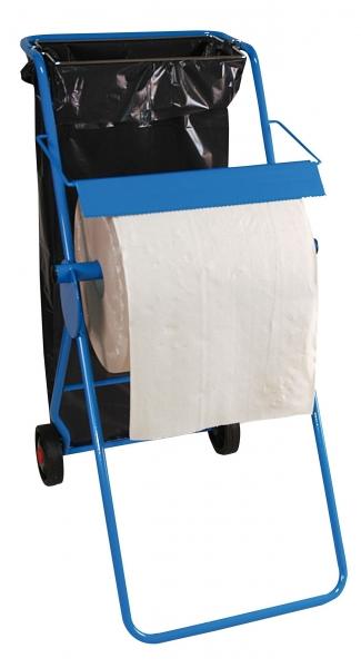 ZVG-zetPutz-Zubehör, Bodenständer mit Abfallsackhalterung, bis 42 cm Rollenbreite, VE: 1 Stück