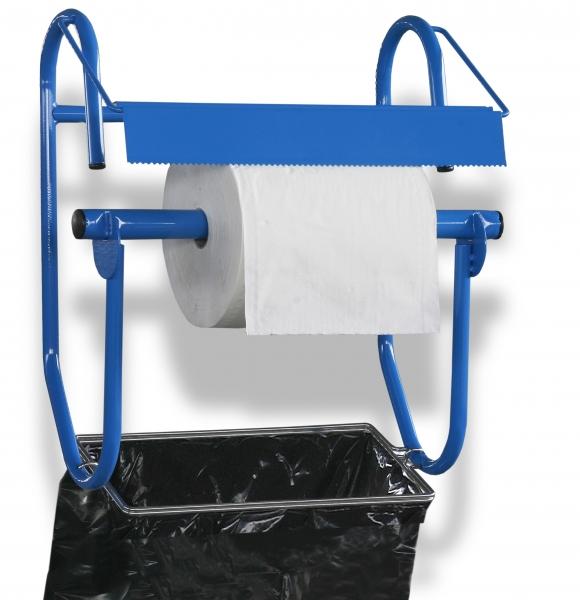 ZVG-zetPutz-Zubehör, Wandhalter breit, mit Abfallsackhalterung,