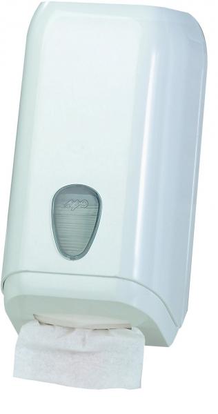 ZVG-zetPutz-Zubehör, Spender für Bulk-Pack-Topa, weiß aus Kunststoff, VE: 6 Stück
