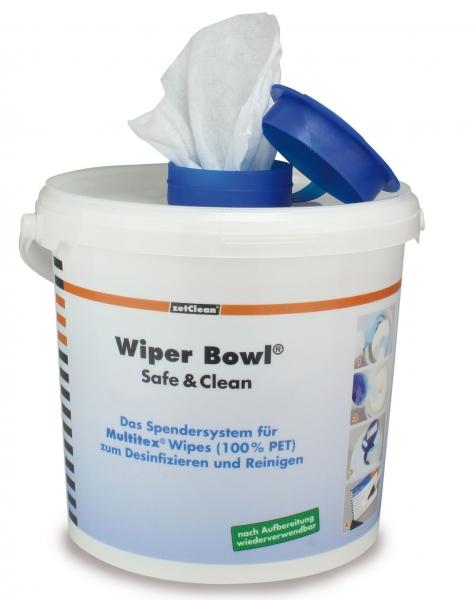 ZVG-zetPutz-Zubehör, Spender-Eimer,  GROSS, RUND, für Wi Bowl Safe & Clean