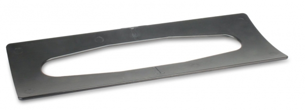 ZVG-zetPutz-Zubehör, Adapter für Falt-Handtuch-Spender, Kunststoff, 1 Stück