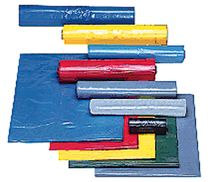 ZVG-zetMatic-Abfall-Säcke-Müll-Beutel, Müllsäcke, gelb, ca. 120 l, Typ 60, VE: 250 Stück (10x25)