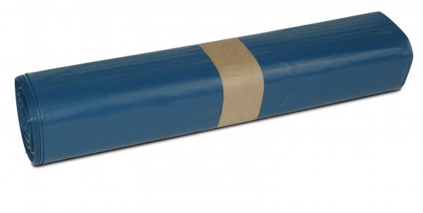ZVG-zetMatic-Abfall-Säcke-Müll-Beutel, Müllsäcke, blau, Typ 100, extra stark, VE: 150 Stück (10x15)