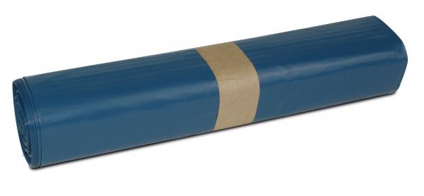 ZVG-zetMatic-Abfall-Säcke-Müll-Beutel, Müllsäcke, blau, ca. 120 l, Typ 100, VE: 150 Stück (10x15)