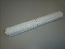ZVG-zetMatic-Abfall-Säcke-Müll-Beutel, Müllbeutel, weiß, mit Zugband, ca. 30 l, VE: 27 Rollen á 25 Stück