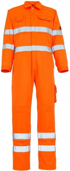 MASCOT-Workwear-Warn-Schutz-/Arbeits-Berufs-Overall-Kombination, UTAH, MG295, orange