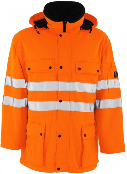 MASCOT-Workwear, Warnschutz-Parka, Quebec, 300 g/m², orange