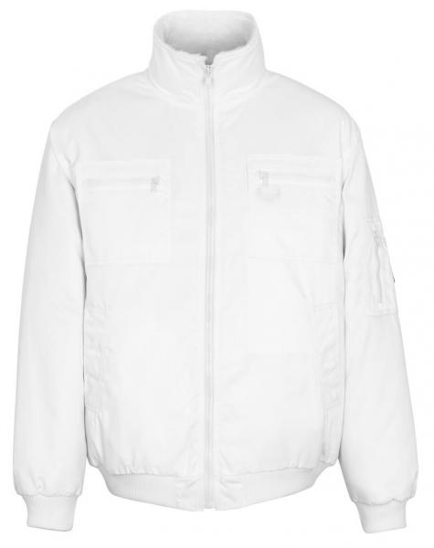 MASCOT-Workwear-Winter-Piloten-Arbeits-Berufs-Jacke, ALASKA, MG240, weiß