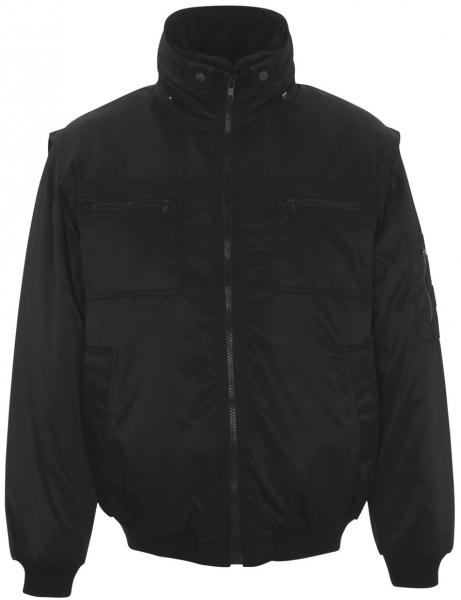 MASCOT-Workwear-Multifunktions-Winter-Arbeits-Berufs-Jacke, INNSBRUCK, MG240, schwarz