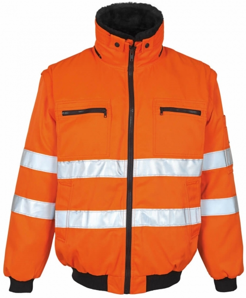 MASCOT-Workwear,  Warnschutz-Pilotjacke, Innsbruck, 300 g/m², orange