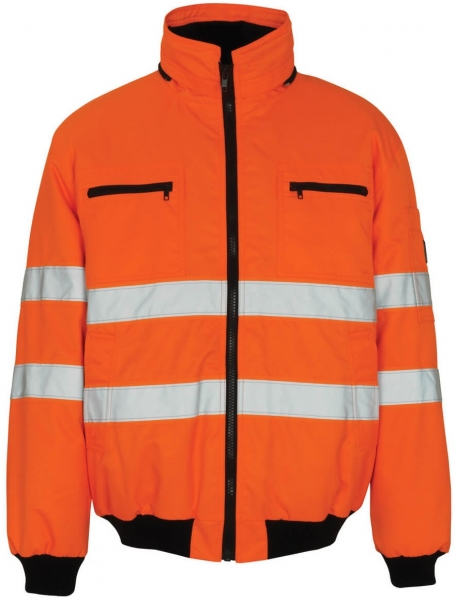 MASCOT-Workwear, Warnschutz-Pilotjacke, St. Moritz, 240 g/m², orange
