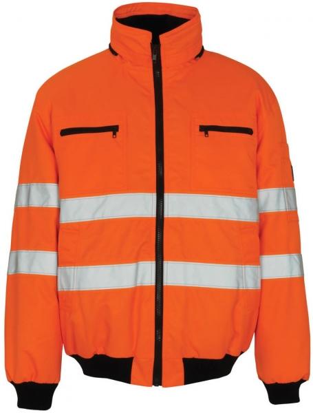 MASCOT-Workwear-Warn-Schutz-Piloten-Arbeits-Berufs-Jacke, ST. MORITZ, orange