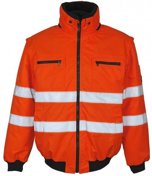 MASCOT-Workwear, Warnschutz-Multifunktionsjacke, Kaprun, 240 g/m², orange