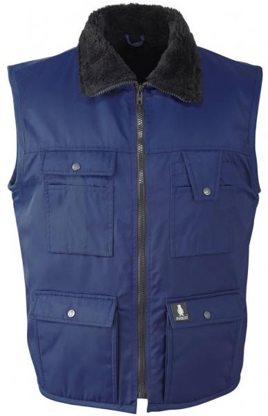 MASCOT Workwear-Winter-Arbeits-Berufs-Weste, SÖLDEN, MG240, marine