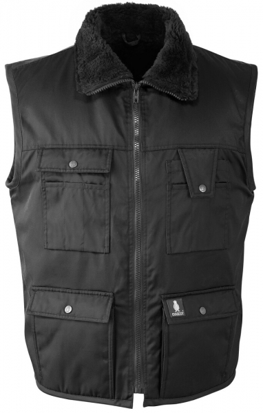 MASCOT-Workwear-Winter-Arbeits-Berufs-Weste, SÖLDEN, MG240, schwarz