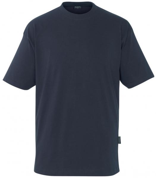 MASCOT-Workwear-T-Shirt, JAVA, BW195, schwarzblau