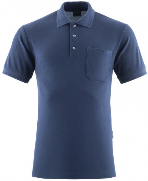 MASCOT-Workwear-Polo-Shirt, BORNEO, MG180, marine