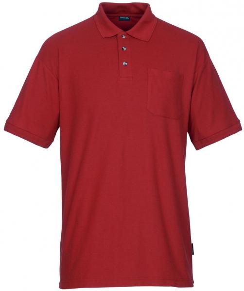 MASCOT-Workwear-Polo-Shirt, BORNEO, MG180, rot