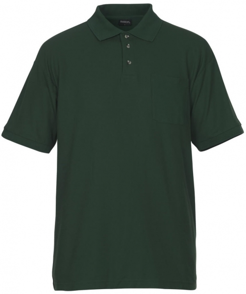 MASCOT-Workwear-Polo-Shirt, BORNEO, MG180, grün