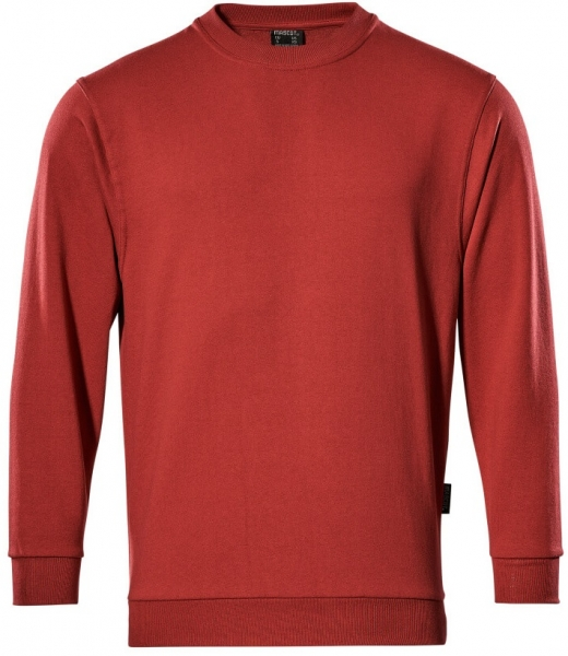 MASCOT-Sweatshirt, Caribien, 310 g/m², rot