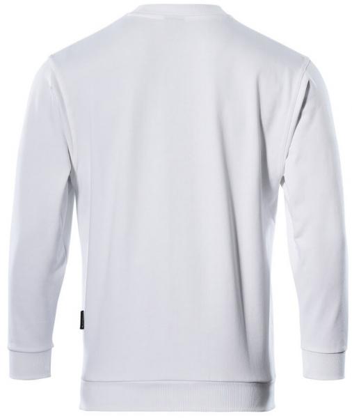 MASCOT-Sweatshirt, Caribien, 310 g/m², weiß