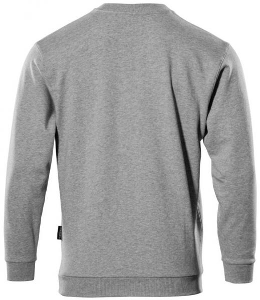 MASCOT-Sweatshirt, Caribien, 310 g/m², grau-meliert
