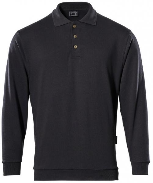 MASCOT-Workwear-Arbeits-Berufs-Polo-Sweatshirt, TRINIDAD, MG310, schwarz