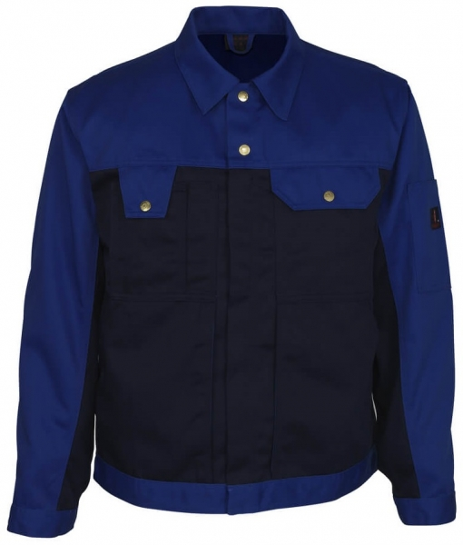 MASCOT-Workwear, Arbeits-Berufs-Bund-Jacke, Como, 310 g/m², marine/kornblau
