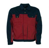 MASCOT-Workwear-Bundjacke, Arbeits-Berufs-Jacke, COMO, MG310, rot/marine