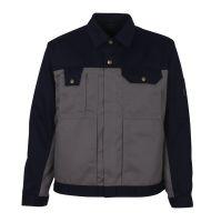 MASCOT-Workwear-Bundjacke, Arbeits-Berufs-Jacke, COMO, MG310, hellgrau/marine