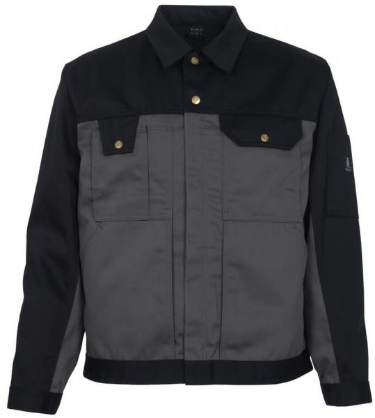 MASCOT-Workwear, Arbeits-Berufs-Bund-Jacke, Como, 310 g/m², anthrazit/schwarz
