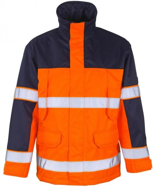 MASCOT-Workwear, Warnschutz-Jacke, Savona, 240 g/m², orange/marine