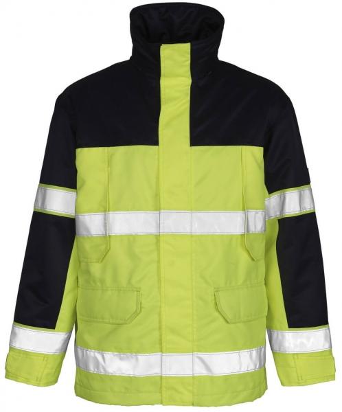 MASCOT-Workwear, Warnschutz-Jacke, Savona, 240 g/m², gelb/marine