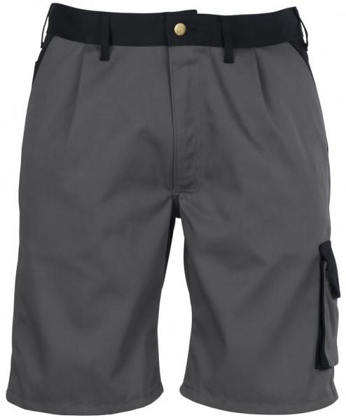 MASCOT-Workwear-Arbeits-Berufs-Shorts, LIDO, 310 g/m², anthrazit/schwarz